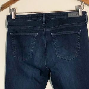 Ag Adriano Goldschmied Jeans - AG Mid Rise Stevie Skinny Cropped Jeans Size 26